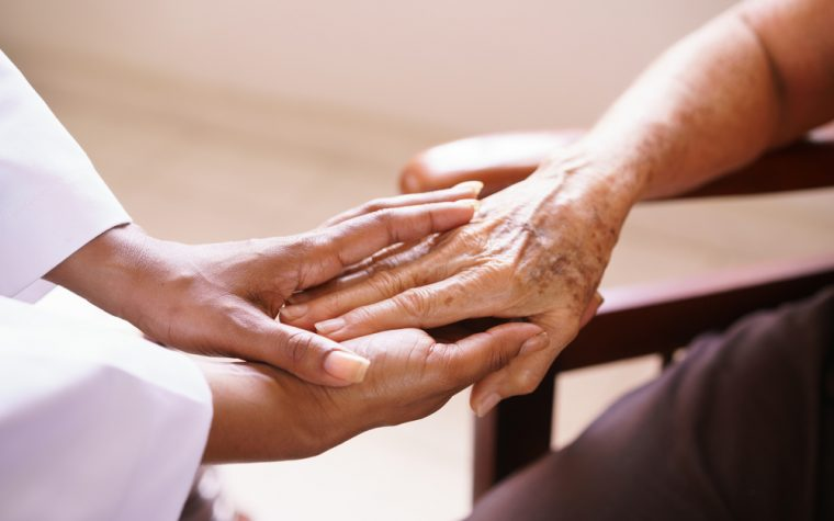 Huntington's disease patients benefit from hospice care.